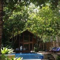 Photo taken at The Tubkaak Boutique Resort Krabi by Thatri L. on 5/4/2013