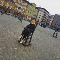 Photo taken at Plac Bohaterów Getta by Ekaterina B. on 1/2/2017