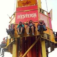 Photo taken at Wahana Hysteria by Intan Cynthia Wijaya on 4/7/2014