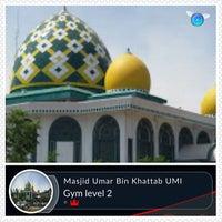 Photo taken at Masjid Umar bin Khattab UMI by Wahyu S. on 8/15/2016