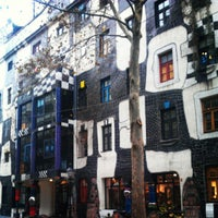 Photo taken at KUNST HAUS WIEN. Museum Hundertwasser by Javier A. on 11/27/2012