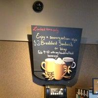 Photo taken at Starbucks by katsusmith on 2/8/2013
