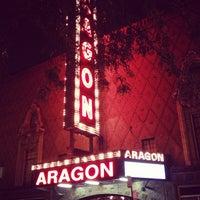 Photo taken at Aragon Ballroom by Brad M. on 9/22/2012
