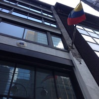 Photo taken at Colombian Consulate by Edwin G. on 7/17/2014