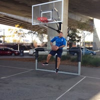 Photo taken at Berry Basketball Courts by SKANDER B. on 12/23/2013