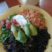 Photo taken at Cactus Taqueria by Ivana on 1/26/2013