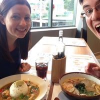 Photo taken at Wagamama by Andru K. on 6/23/2014