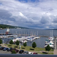 Photo taken at Watkins Glen Harbor Hotel by Manish G. on 8/4/2013