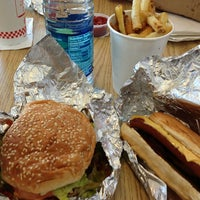 Photo taken at Five Guys by Sergio G. on 1/12/2013