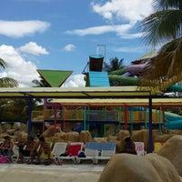 Photo taken at Parque Dunas by Enrique U. on 6/28/2014