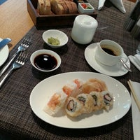 Photo taken at Lufthansa First Class Lounge by nibbler on 3/12/2013