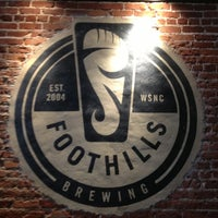 Photo taken at Foothills Brewing by Seymour 'Salfrico' W. on 2/13/2013