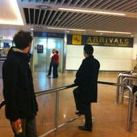 Photo taken at Arrivals by Marion B. on 10/15/2012