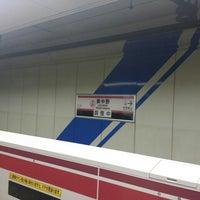 Photo taken at Oedo Line Higashi-nakano Station (E31) by kazunoko D. on 10/9/2015