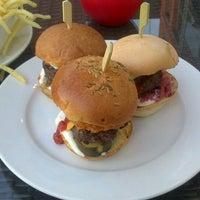 Photo taken at Gourmet Burger Kitchen by Mark L. on 5/2/2013