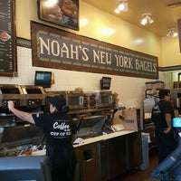Photo taken at Noah's Bagels by Sarah A. on 8/4/2016