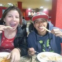 Photo taken at Mega Pizza by Morena V. on 6/19/2014