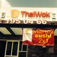 Photo taken at Thaiwok Plaza Sevilla by ThaiWok Plaza Sevilla on 8/19/2014