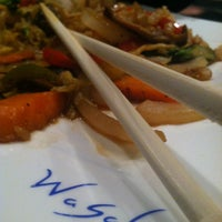 Photo taken at Wasabi Japanese Steakhouse by Angela R. on 6/1/2013