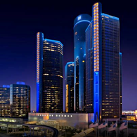 Photo taken at Detroit Marriott at the Renaissance Center by Detroit Marriott at the Renaissance Center on 1/9/2014