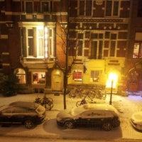 Photo taken at Stayokay Amsterdam Vondelpark by Gerben D. on 1/20/2013