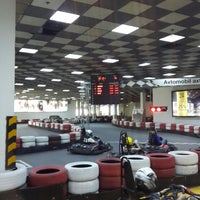 Photo taken at Baku Karting & Event Center by Bahruz J. on 5/1/2014