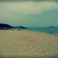 Photo taken at Totos Beach Bar by Theodora M. on 6/25/2014