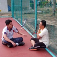 Photo taken at Court Tenis MPHTJ by Mohd M. on 1/22/2014