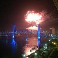Photo taken at Hyatt Regency Jacksonville Riverfront by Jamie C. on 1/1/2013