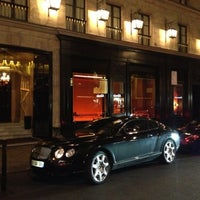 Photo taken at Hôtel Costes by Thierry R. on 11/7/2012