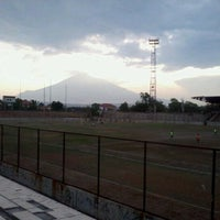 Photo taken at Stadion Bima by Oktavianti on 3/19/2016