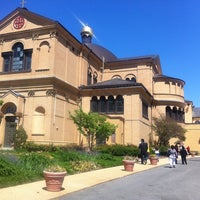 Photo taken at Franciscan Monastery of the Holy Land in America by GaiaSur G. on 5/12/2013