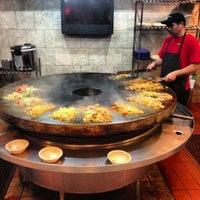 Photo taken at CrazyFire Mongolian Grill by Sean M. on 11/25/2012