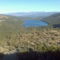 Photo taken at Donner Pass Summit by Laura S. on 10/15/2012