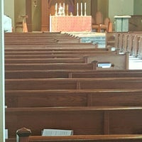 Photo taken at St. Mark's Catholic Church by Mike H. on 3/19/2016