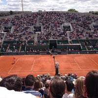 Photo taken at Court Suzanne Lenglen by Jean-Armand G. on 6/2/2013