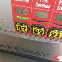 Photo taken at Safeway Fuel Station by Channelle M.I A B. on 2/1/2016