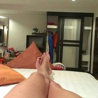 Photo taken at Baramee Resortel Phuket by Katena P. on 10/29/2014