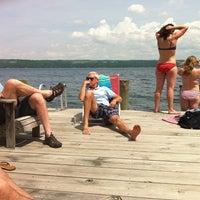 Photo taken at Cayuga Lake by Lisa B. on 6/1/2013