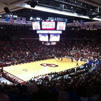 Photo taken at Lloyd Noble Center by Eric L. on 2/9/2013
