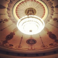 Photo taken at Новосибирский государственный академический театр оперы и балета by Alexey A. on 12/5/2012