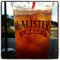 Photo taken at McAlister's Deli by Joshua H. on 7/26/2013