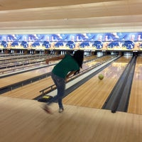 Photo taken at Buffaloe Lanes North Bowling Center by Luymar C. on 12/1/2012