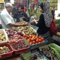 Photo taken at Pasar Besar Awam TTDI by jaida j. on 10/13/2013
