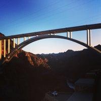 Photo taken at Mike O'Callaghan-Pat Tillman Memorial Bridge by Will A. on 1/22/2013