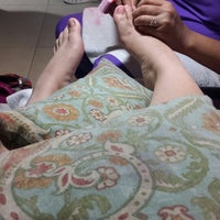 Photo taken at Glam Nails by Jillian Clarisse A. on 8/8/2014