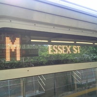 Photo taken at MTA Subway - Middle Village/Metropolitan Ave (M) by Manny B. on 6/14/2014