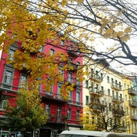 Photo taken at Helmholtzplatz by SandyInBerlin on 11/9/2012