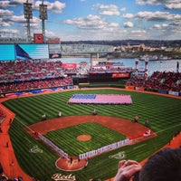 Photo taken at Great American Ball Park by Tyler H. on 4/2/2013