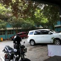 Photo taken at SMP Pangudi Luhur 1 Yogyakarta by Yanuar Yong S. on 6/11/2014